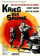 One of Our Spies Is Missing - German Movie Poster (xs thumbnail)