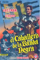 Giovanni dalle bande nere - Spanish Movie Poster (xs thumbnail)