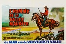 L'uomo della valle maledetta - Belgian Movie Poster (xs thumbnail)