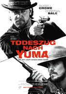 3:10 to Yuma - German Movie Poster (xs thumbnail)
