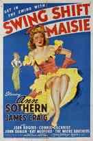 Swing Shift Maisie - Movie Poster (xs thumbnail)