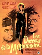 The Millionairess - French Movie Poster (xs thumbnail)