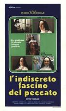 Entre tinieblas - Italian Movie Poster (xs thumbnail)