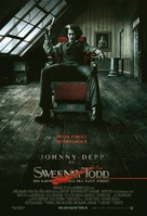 Sweeney Todd: The Demon Barber of Fleet Street - Danish Movie Poster (xs thumbnail)