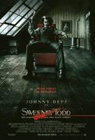 Sweeney Todd: The Demon Barber of Fleet Street - Danish Movie Poster (xs thumbnail)