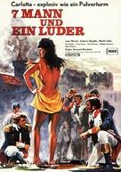 Sept hommes et une garce - German Movie Poster (xs thumbnail)