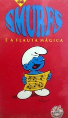 La flûte à six schtroumpfs - Brazilian VHS cover (xs thumbnail)
