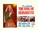 The Song of Bernadette - British Movie Poster (xs thumbnail)
