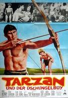 Tarzan and the Jungle Boy - German Movie Poster (xs thumbnail)