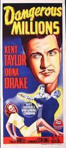 Dangerous Millions - Australian Movie Poster (xs thumbnail)
