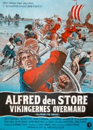 Alfred the Great - Danish Movie Poster (xs thumbnail)