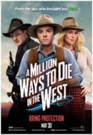 A Million Ways to Die in the West - Canadian Movie Poster (xs thumbnail)