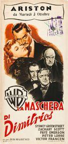The Mask of Dimitrios - Italian Movie Poster (xs thumbnail)