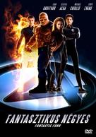 Fantastic Four - Hungarian DVD movie cover (xs thumbnail)