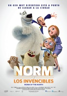Norm of the North - Mexican Movie Poster (xs thumbnail)