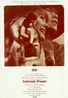 Women in Love - German Movie Poster (xs thumbnail)