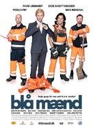 Blå mænd - Danish Movie Poster (xs thumbnail)