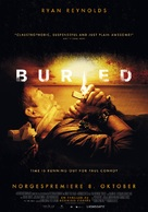 Buried - Norwegian Movie Poster (xs thumbnail)