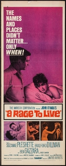 A Rage to Live - Movie Poster (xs thumbnail)