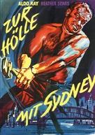 Four Desperate Men - German Movie Poster (xs thumbnail)