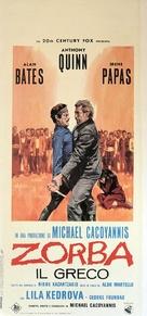 Alexis Zorbas - Italian Movie Poster (xs thumbnail)