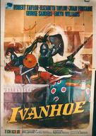 Ivanhoe - Italian Movie Poster (xs thumbnail)