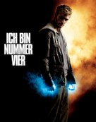 I Am Number Four - German Movie Poster (xs thumbnail)
