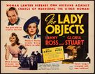 The Lady Objects - Movie Poster (xs thumbnail)