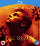 The Beach - British Blu-Ray cover (xs thumbnail)