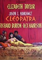 Cleopatra - Swedish Movie Poster (xs thumbnail)