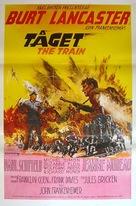 The Train - Swedish Movie Poster (xs thumbnail)