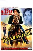 Stranger on Horseback - Belgian Movie Poster (xs thumbnail)