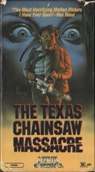 The Texas Chain Saw Massacre - VHS movie cover (xs thumbnail)