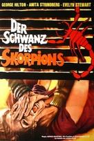La coda dello scorpione - German Movie Poster (xs thumbnail)
