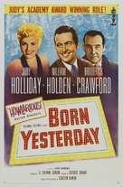 Born Yesterday - Re-release poster (xs thumbnail)