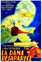 The Lady Vanishes - Argentinian Movie Poster (xs thumbnail)