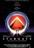Stargate - German Movie Poster (xs thumbnail)