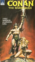 Conan The Barbarian - Finnish VHS movie cover (xs thumbnail)