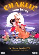 All Dogs Go to Heaven - French DVD cover (xs thumbnail)