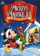 Mickey's Magical Christmas: Snowed in at the House of Mouse - Danish DVD cover (xs thumbnail)