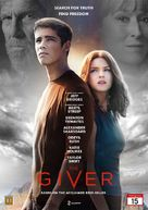 The Giver - Danish DVD cover (xs thumbnail)