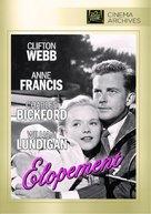Elopement - DVD cover (xs thumbnail)