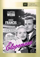 Elopement - DVD movie cover (xs thumbnail)