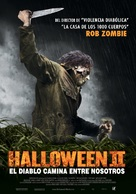 Halloween II - Chilean Movie Poster (xs thumbnail)