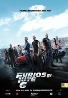 Furious 6 - Romanian Movie Poster (xs thumbnail)