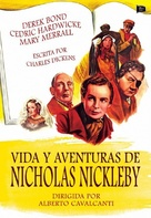 Nicholas Nickleby - Spanish DVD movie cover (xs thumbnail)