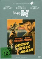Destry Rides Again - German DVD cover (xs thumbnail)