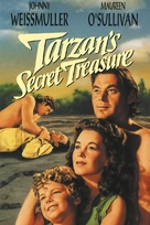 Tarzan's Secret Treasure - VHS cover (xs thumbnail)