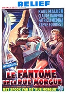Phantom of the Rue Morgue - Belgian Movie Poster (xs thumbnail)