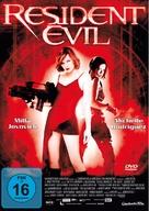 Resident Evil - German DVD movie cover (xs thumbnail)